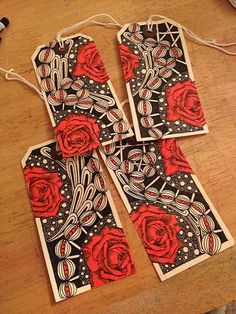 Zentangle Doodle tags | Flickr - Photo Sharing!
