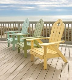 .Great beach chairs ..  love the different colors