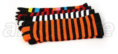 Five-Toe Socks, Medium Length, Multiple Colors Choices Toe Socks