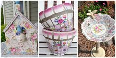12 Creative Crafts that Take Broken China From Trash to Treasure  - CountryLiving.com