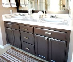 Brown Painted Cabinets On Pinterest Brown Cabinets Kitchen Lowes Kitchen C