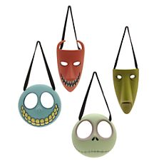 The Nightmare Before Christmas Decorations, Set of 4