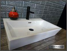 Lavoar dreptunghiular pe blat Oran   Sink, Home Decor, Sink Tops, Vessel Sink, Decoration Home, Room Decor, Vanity Basin, Sinks, Home Interior Design