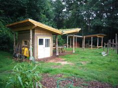 The Outdoor Classroom at Evergreen Community Charter School in Asheville, NC