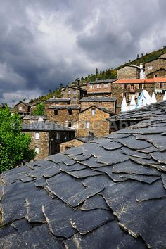 Piódão, old traditional village, all built in schist, in the heart of Portugal.