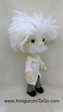 Albert Einstein - Media - Crochet Me