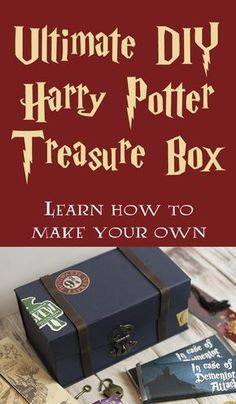 DIY Ultimate Harry Potter Treasure Box