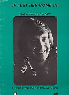 Sheet Music 1976 If I let Her Come In Ray Griff 15 Capitol Records, Sheet Music, Let It Be, Cards, Movies, Movie Posters, Products, Film Poster, Films