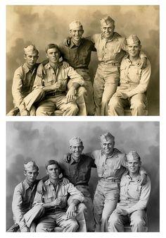 Soldier buddies