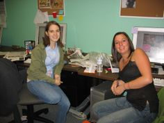 Bethany Young and Carly Hansford, Fall 2009