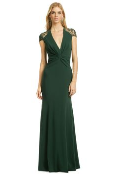 I would become a redhead for this dress. Jade Serenity Gown   Reem Acra.