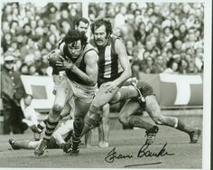 Australian Sports photograph of the Year - 1980 Francis Bourke (RFC), Doug Wade (NMFC)