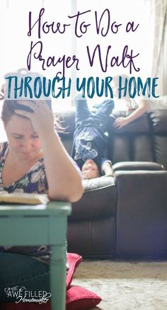 If you are thinking of doing a prayer walk through of your home, allow me to share some tips on walking through every area of your home praying... via @AFHomemaker