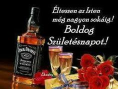 BALOGH SANDOR Happy Name Day, Happy Brithday, Jack Daniels, Whisky, Whiskey Bottle, Stuff To Do, Birthday, Google, Cake Baking