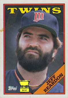 """World Series Champion Pitcher Jeff Reardon Autograph Minnesota Twins Signed Card. Comes with certificate of authenticity. Nicknamed """"The Terminator"""" for his intimidating presence on the mound and 98 m Clemson Baseball, Minnesota Twins Baseball, Baseball Players, Mlb Twins, Football Cards, Baseball Cards, Baseball Buckets, Baltimore Orioles, World Series"""