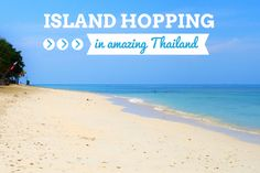 The coastline along the Andaman Sea in Thailand has a dramatic scenery and lots of stunning islands just waiting to be explored. Island hopping in Thailand