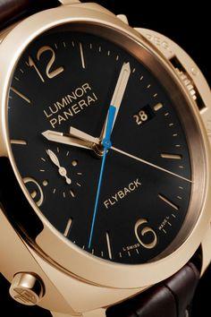 Luminor Luminor 1950 3 Days Chrono Flyback Automatic Oro Rosso