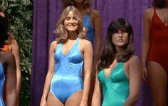 Fabulous Female Celebs of the Past Image: Maureen McCormick/Fantasy Island Beautiful Celebrities, Beautiful Actresses, Beautiful Ladies, Bikinis, Swimsuits, Swimwear, Michele Carey, Maureen Mccormick, Miss California