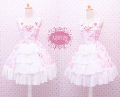Hey, I found this really awesome Etsy listing at https://www.etsy.com/listing/220595641/cute-pink-sweet-dress-with-flower