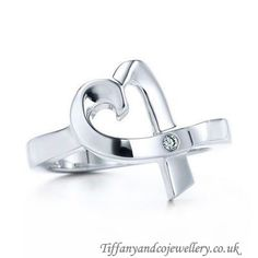 Tiffany and co Rings Paloma Picasso Loving Heart This Tiffany Jewelry Product Features: Category:Tiffany & Co Rings Material: Sterling Silver Tiffany Jewelry Outlet, Tiffany And Co Outlet, Tiffany Co Rings, Tiffany And Co Bracelet, Tiffany Bangle, Tiffany Necklace, Cartier, Jewelry Rings, Silver Jewelry