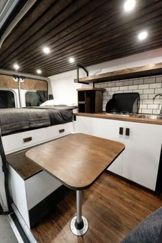 Adorable Wood Interior Ideas For Sprinter Van Camper, Volkswagen campers stick out from the crowd. A Sprinter van camper is readily the most flexible type of Sprinter RV. Our very last RV had one small ba. Cargo Van Conversion, Van Conversion Interior, Sprinter Van Conversion, Van Conversion With Shower, Van Conversion Parts, Van Conversion Kitchen, Transit Camper Conversion, Van Conversion Layout, Mini Van