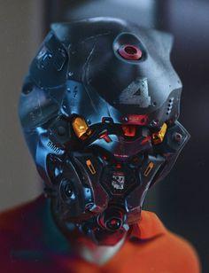 Mech Prisoner on Behance by Vladislav KudryaMore robots here.: