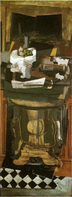 'The Guéridon' by Georges Braque (1882-1963, France)