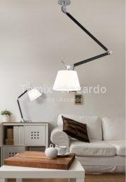 Lampa wisząca Zyta M biała (MD2300-M-WH) Azzardo