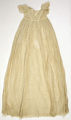 Dress  Date: mid-19th century Culture: French (probably) Medium: cotton