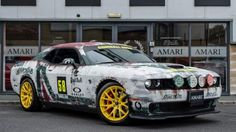 Does a Dodge Challenger SRT Hellcat with Gumball 3000 pedigree tempt you?