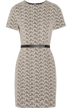 Diane von Furstenberg Cindy cotton-blend lace dress