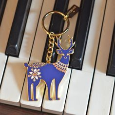 porte-clés Cerf Folklore - deco-graphic.com