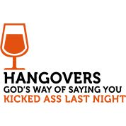 Hangovers Kick Ass