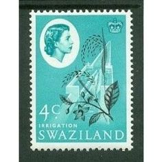 Swaziland QEII 1962 4c black & turquoise green Unmounted Mint NHM SG 95 stamp Listing in the Swaziland,Commonwealth & British Colonial,Stamps Category on eBid United Kingdom | 124097491