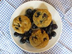Grain Free Blueberry Lemon Muffins