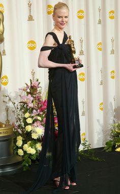 Nicole Kidman from 50 Years of Oscar Dresses: Best Actress Winners From 1954 - 2014 | E! Online