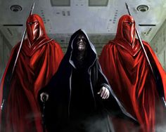 The Emperor's Royal Guard, sometimes referred to as the Imperial Royal Guard or Imperial Guard, was an elite unit of the Galactic Empire's armed forces tasked with the protection of the Emperor, Palpatine. Palpatine was almost never seen without a detachment of Royal Guards at his side, so much that they usually accompanied him to his bed chambers and his office within the Death Star. The exact number of Royal Guardsmen serving the Emperor was unknown, with speculations ranging from less...