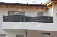 Parapetto per terrazze in ferro e acciaio inox | Erkély - terasz ...