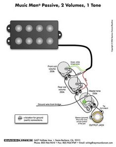 Wiring Diagram For Emg Active Pickups powerking Wire