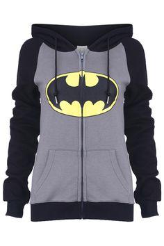 2017 New Men Women Casual Classical Design Batman Hooded Hoodies Zip Up Winter Fleece Super Warm Superhero Sweatshirts Coat Hoodie Sweatshirts, Zip Hoodie, Sweatshirts Online, Batman Hoodie, Preppy Mode, Preppy Style, My Style, Geeks, Nananana Batman