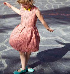 Kostenloses PDF-Schnittmuster für Mädchen: Sommerkleid