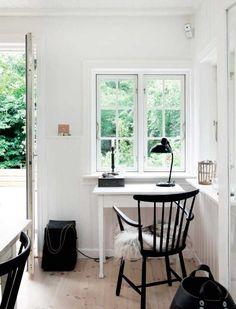 Sommerhus i grafisk og romantisk stil | Femina