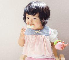 ピンクストライプ、シフォン、バルーン型☆女の子らしさが引き立つスタイ
