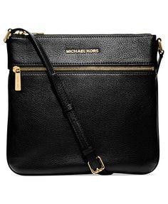 I want this bag! MICHAEL Michael Kors Bedford Flat Crossbody