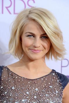 Julianne Hough in Tony Ward Couture. it's haircut time!