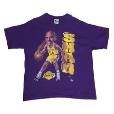 Vintage Pro Layer Shaq T-Shirt. X-Large. Layers, Usa, Mens Tops, T Shirt, Vintage, Products, Women, Fashion, Layering