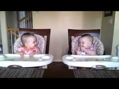 Adorable Twins Rock Out To Daddy's Music