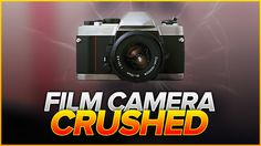 Crushing a Film Camera Film Camera, Crushes, Videos, Fun, Movie Camera, Lol, Funny