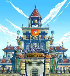 Magnolia Town - Fairy Tail Wiki, the site for Hiro Mashima's manga and anime series, Fairy Tail.