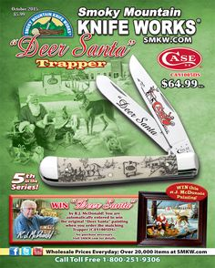 Be sure to pick up your copy of Smoky Mountain Knife Works' October 2015 catalog!